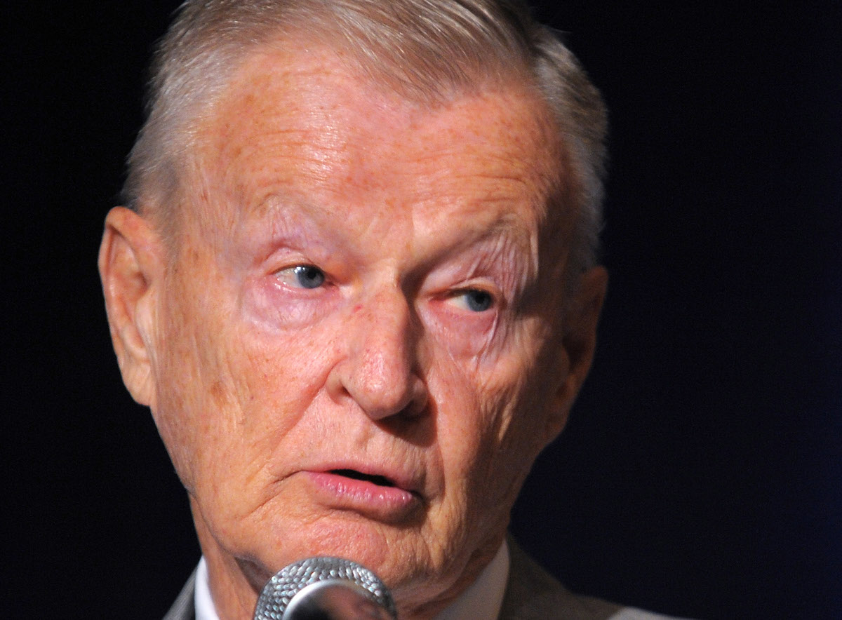 Former US national security advisor Zbigniew Brzezinski speaks in 2009 in Washington. Photo: AFP / Mandel Ngan
