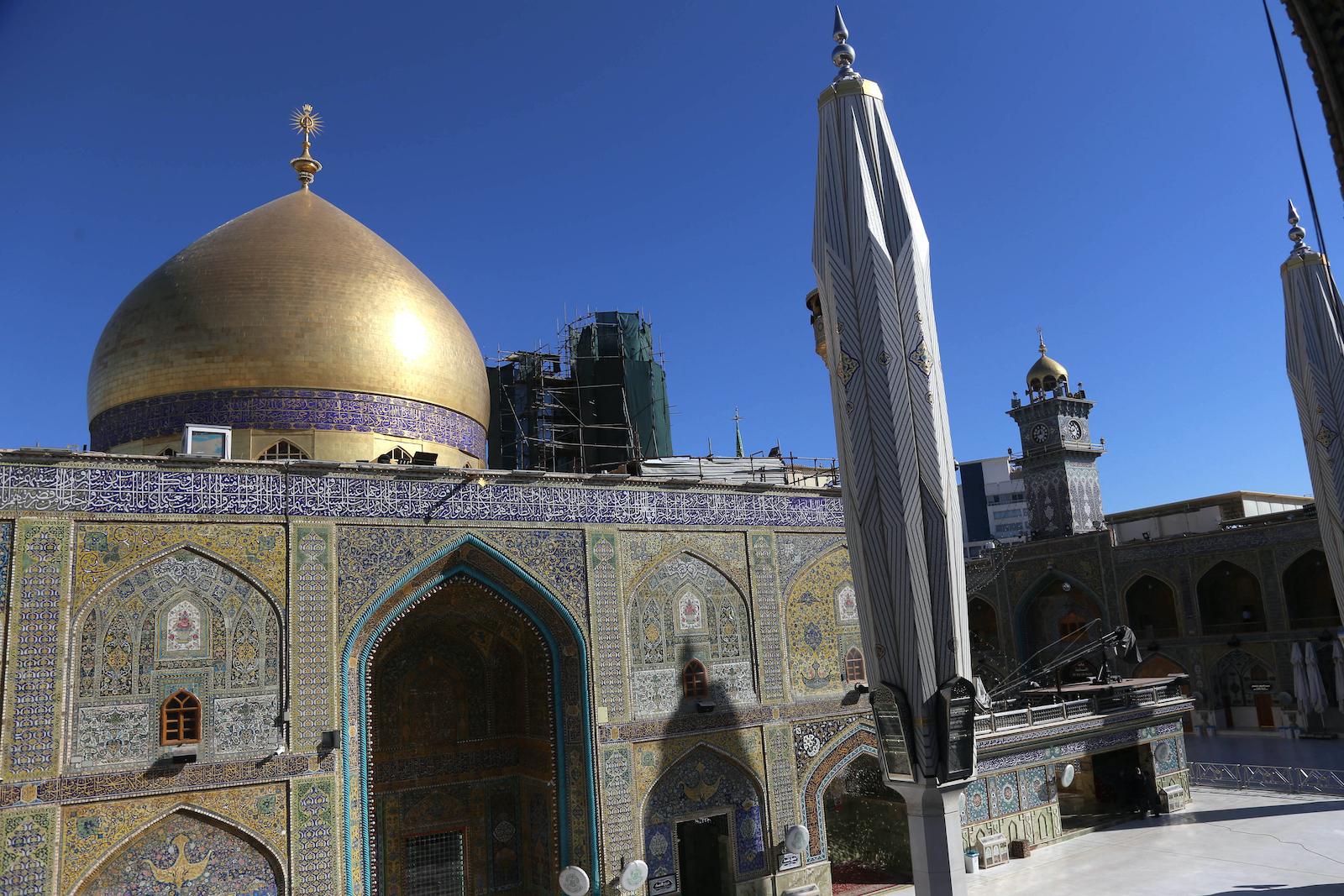 The Imam Ali shrine in Iraq's Najaf. Photo: AFP/Mohammed Sawaf