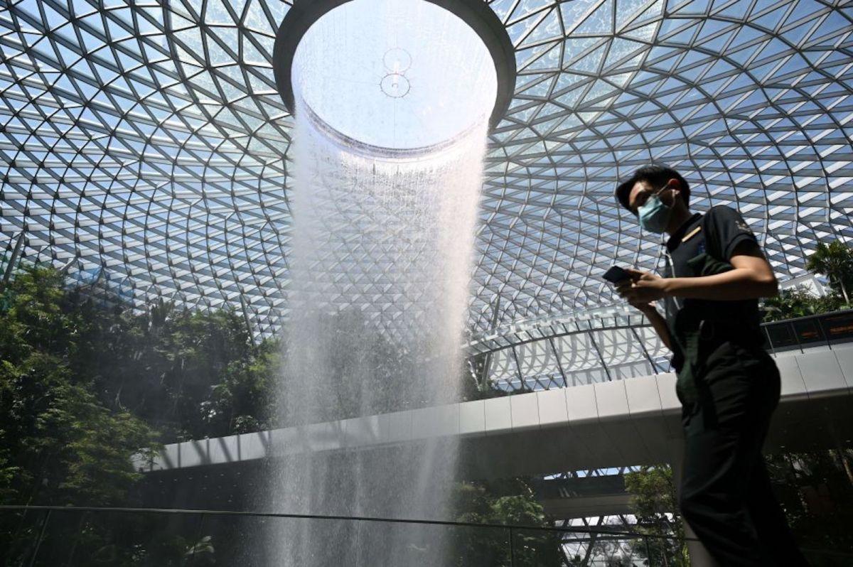 Singapore's Covid success springs a leak