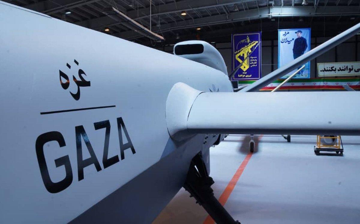 Irans neue Drohne hat eine Reichweite von 7000 Kilometer