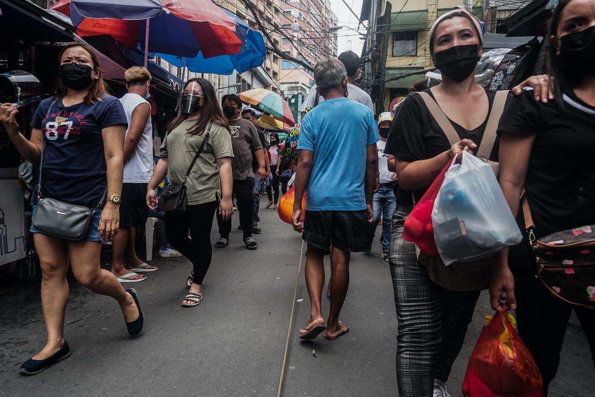 Philippines orders children indoors as virus surges