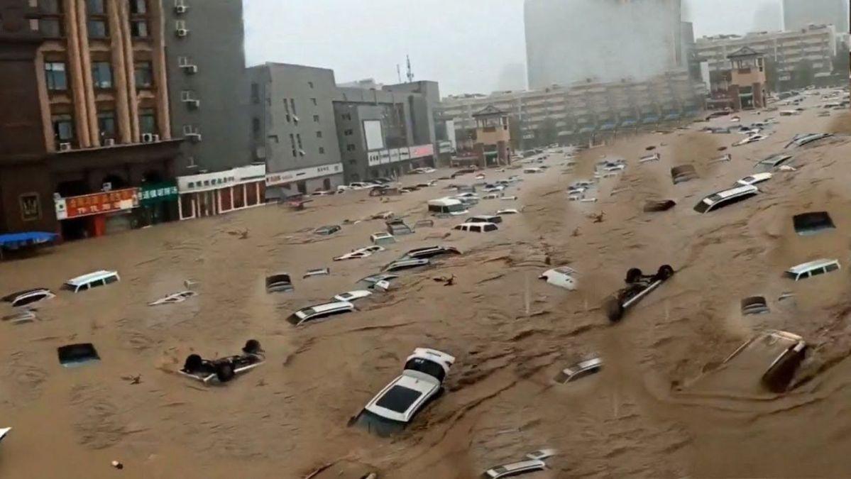 Zhengzhou record rains wash out Apple, Nissan - Asia Times