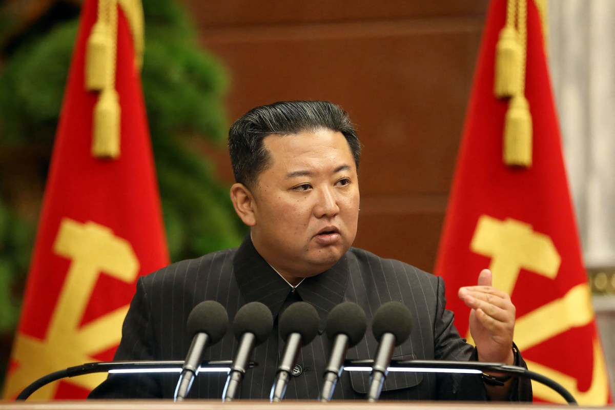 North Korea fires 'unidentified projectile'