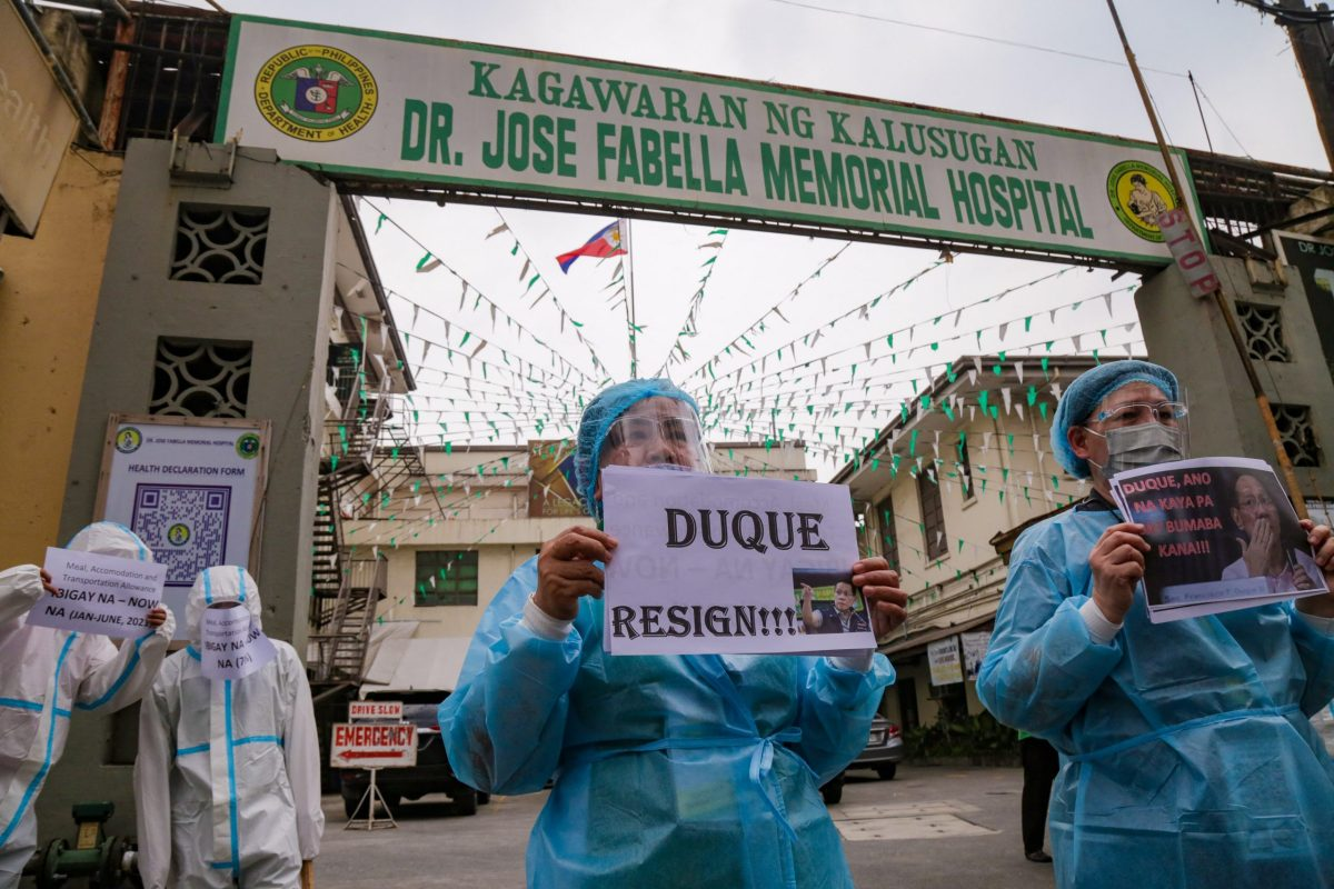 Nurses bear brunt of Philippines Covid shambles