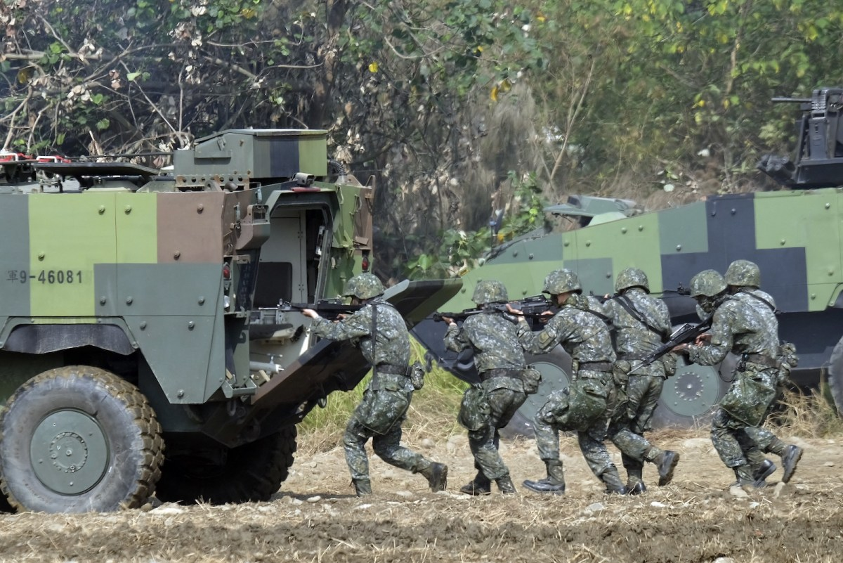 US acknowledges special forces training Taiwanese