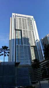 Kuala Lumpur Hotels - The FACE Suites - view of hotel from afar