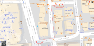 Best Wonton Noodles in Hong Kong - Map showing How to Get To Shek Kee from East Tsim Sha Tsui MTR station