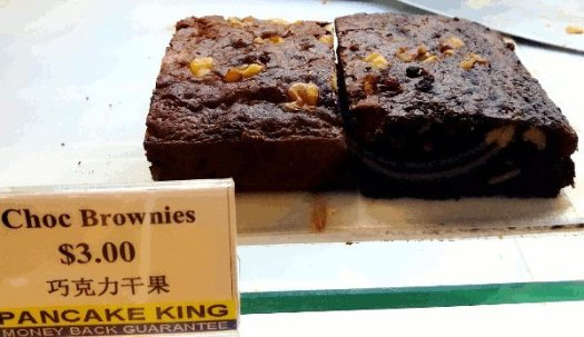 Best Places To Eat In Singapore - Chocolate Brownies