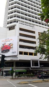 Best Places To Eat In Singapore - Front of Fortune Centre along Waterloo Street