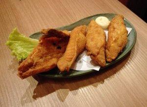 Best Places To Eat In Kuala Lumpur - Kinjuku SetiaWalk Mall Review - Fried Fish