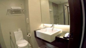 Ipoh Hotels Review - Hotel Excelsior Ipoh - En Suite Bathroom