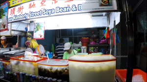 Famous Soya Bean Drink Stall