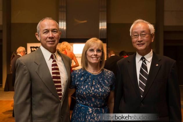 Bernard Floyd, Cynthia Flores and C.T. Hsu
