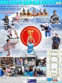 Official Orlando Japan Festival flyer
