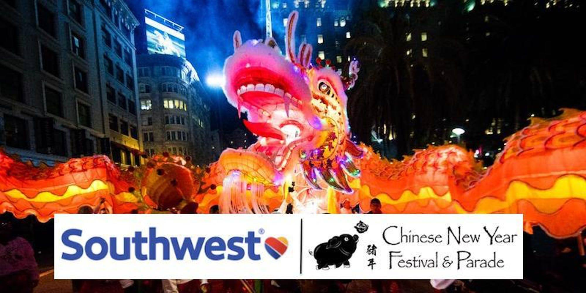 Southwest Airlines Chinese New Year Parade - 2019
