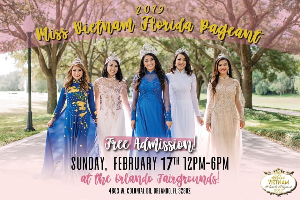 Miss Vietnam Florida Pageant 2019 Free Admission