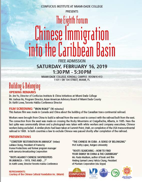 Chinese Immigration into the Caribbean Basin
