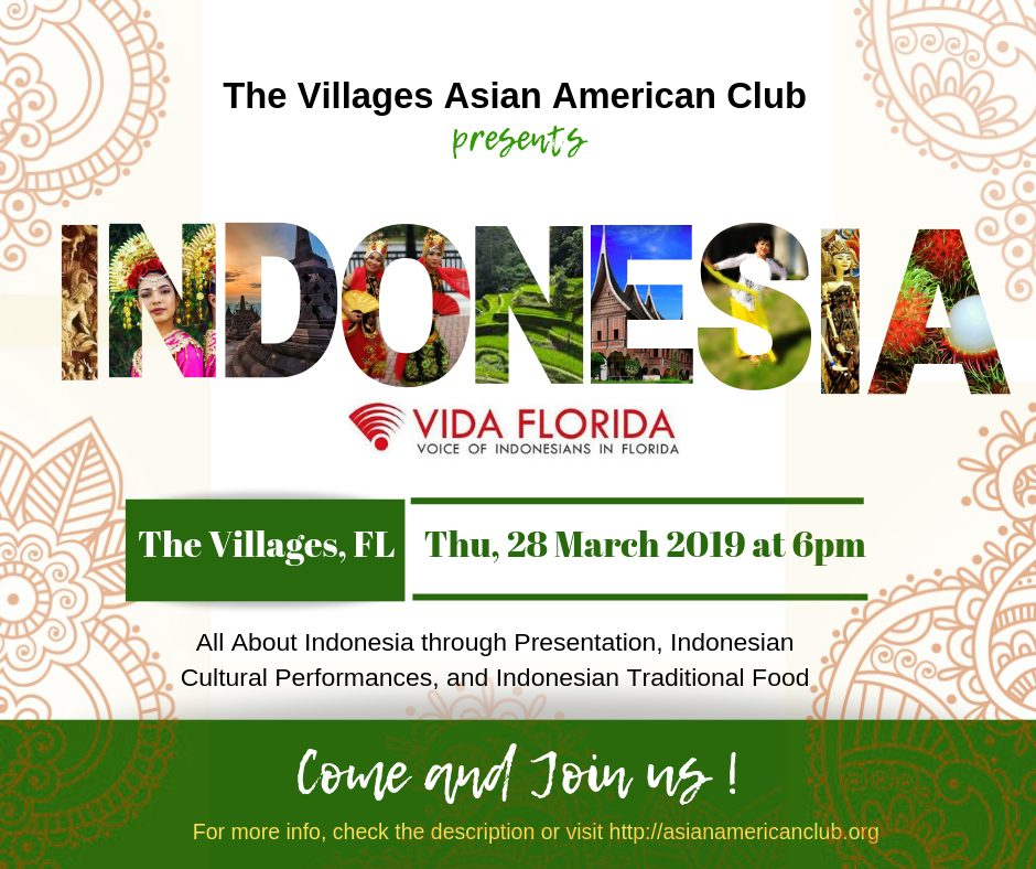 A NIGHT WITH VIDA: Get To Know More About INDONESIA
