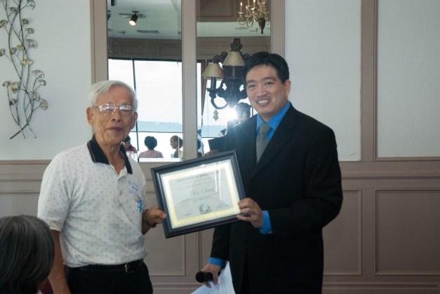 Wen Chung & Mr. Stan Chen