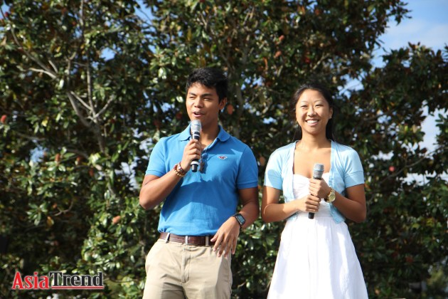 Emcees: UCF Mr. ASA 2012 David Galindo and Miss ASA 2012 Melanie Liu