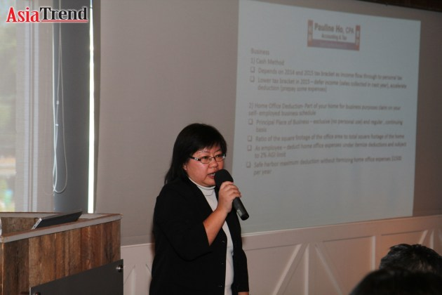 Pauline Ho of Laus Consulting