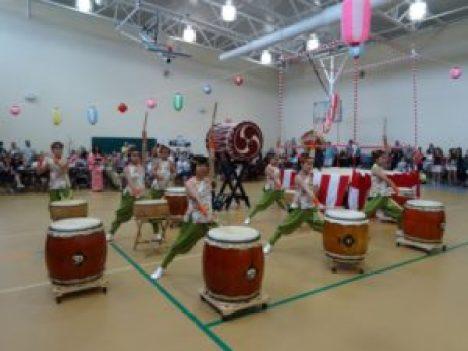 EPCOT's Matsuriza Taiko Drummers perform at Bon Fest