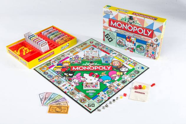 Sanrio Game Master Special Edition Monopoly* (Limited to 1,000sets in Hong Kong) HKa$420.00