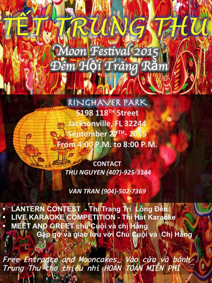 Tet Trung Thu Moon Festival 2015 by Vietnamese Association of Jacksonville