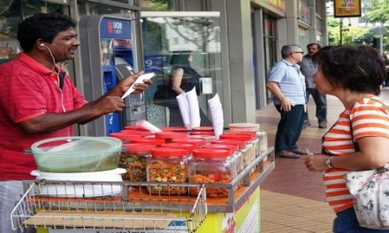 SINGAPORE-IF WE WANT TO KEEP HAWKER CULTURE ALIVE, PUT OUR MONEY WHERE OUR MOUTHS ARE