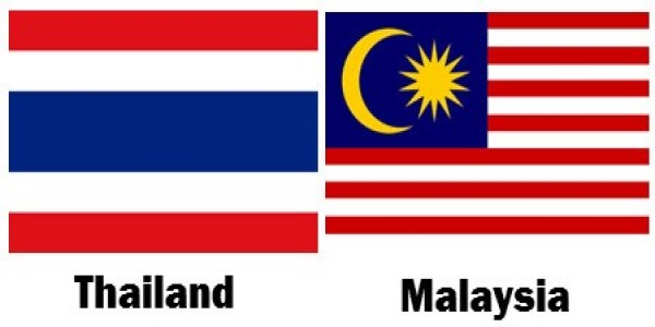 THE DIFFERENCE BETWEEN THAILAND AND MALAYSIA