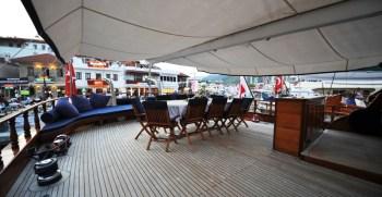 Queen of Datca – Spacious Deck