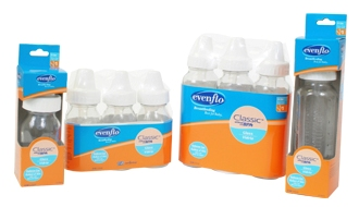 evenflo glass bottle