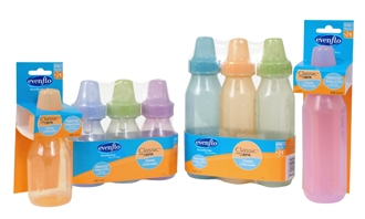 evenflo classic tinted bottles