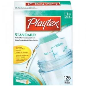 playtex standard liner 8oz