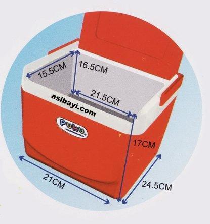puku cooler box dimension