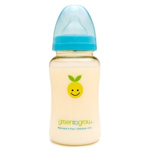 Green To Grow Baby Bottle Wideneck 10oz