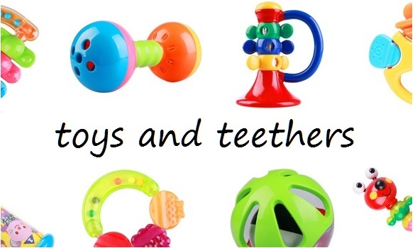 toys and teethers