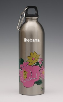 earthlust water bottle 1L Ikebana