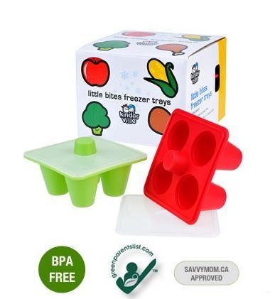 kinderville little bites freezer trays