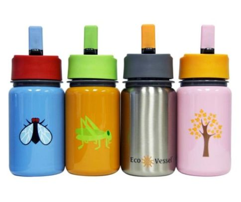 eco vessel kids straw