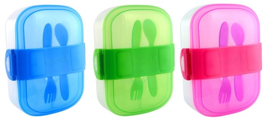 Munchkin Click Lock Bento Mealtime Set All Colors