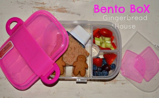Munchkin Click Lock Bento Mealtime Set Pink in Use