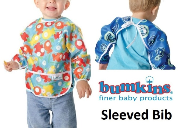 Bumkins Waterproof Sleeved Bib
