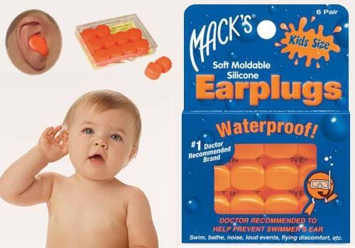 Mack's Ear Plug Ukuran Bayi dan Anak