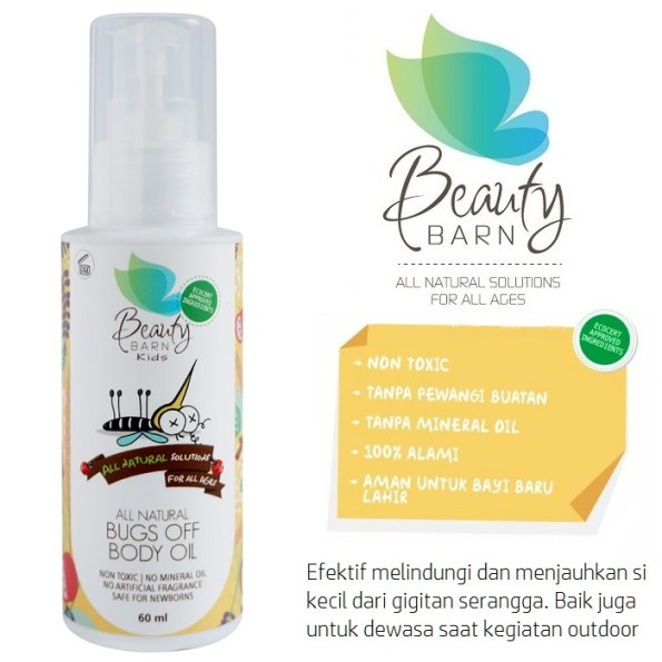 Beauty Barn Bugs off 60ml New