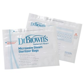 DrBrown's Microwave Steam Sterilizer Bags