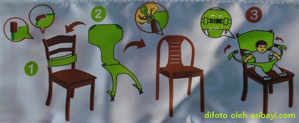 Beboo Seat (instruksi pemasangan)