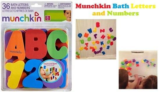 Munchkin Bath Letters and Numbers (2)