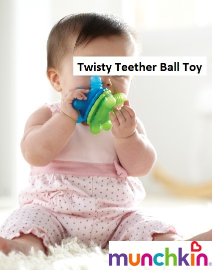 Munchkin Twisty Teether
