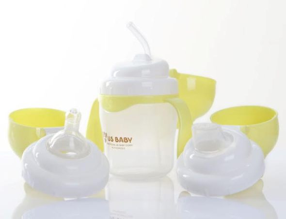 UsBaby 3in1 Training Cup Set